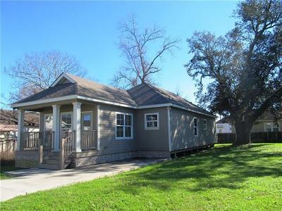New Orleans Single Family Home For Sale: 2424 Gladiolus Street