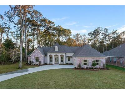 Madisonville LA Single Family Home For Sale: $465,000
