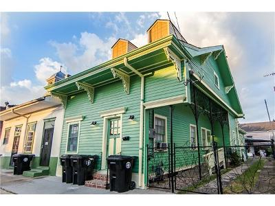 New Orleans Single Family Home For Sale: 1125-27 Mandeville Street