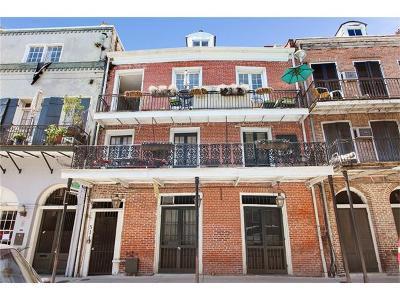 French Quarter Condo For Sale: 514 Dumaine Street #7