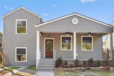 New Orleans Single Family Home For Sale: 4624 Eastern Street