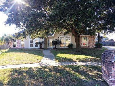 Kenner Single Family Home For Sale: 3201 Tulane Drive