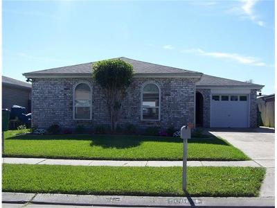 Marrero Single Family Home For Sale: 5068 Dueling Oaks Drive