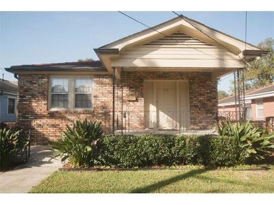 Metairie Single Family Home For Sale: 726 Bonnabel Boulevard