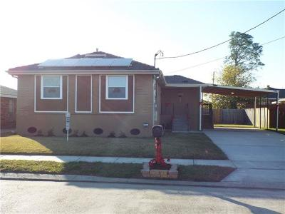 New Orleans Single Family Home For Sale: 4774 Eunice Street