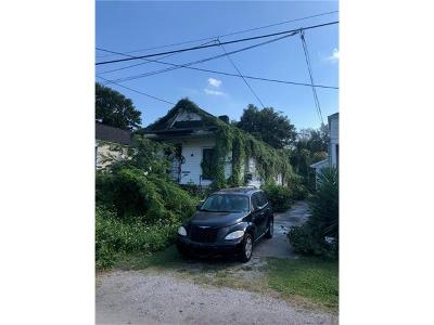 New Orleans Single Family Home For Sale: 1615 Hollygrove Street