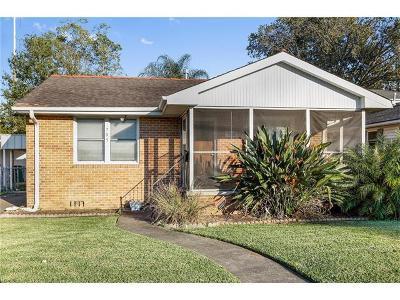 Metairie Single Family Home For Sale: 705 Pasadena Avenue