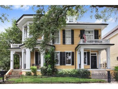 New Orleans Townhouse For Sale: 2323 St. Charles Avenue