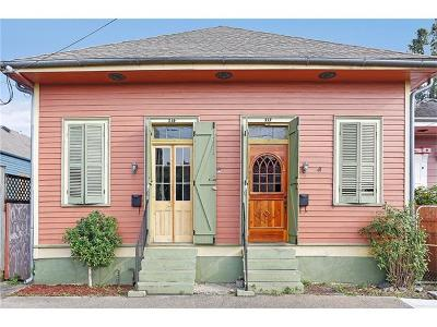 New Orleans Multi Family Home For Sale: 717 Lesseps Street