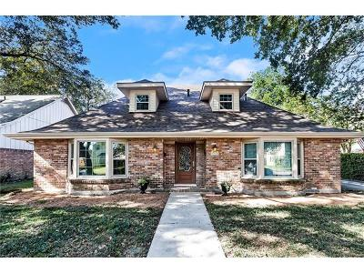 New Orleans Single Family Home For Sale: 2741 Hudson Place