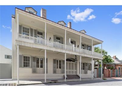 New Orleans Condo For Sale: 822 Barracks Street #B