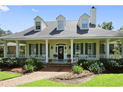Slidell Single Family Home For Sale: 134 Ayshire Court