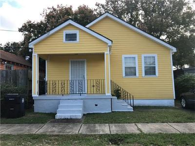 New Orleans Single Family Home For Sale: 5406 N Rampart Street