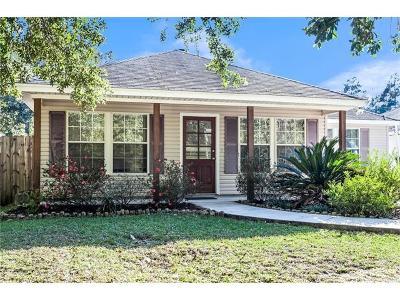 Madisonville LA Single Family Home For Sale: $187,000