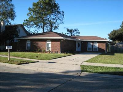 Marrero Single Family Home For Sale: 2600 Buccaneer Drive