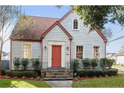 New Orleans Single Family Home For Sale: 4980 Arts Street