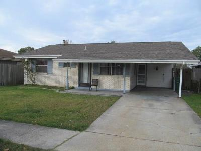Marrero Single Family Home Pending Continue to Show: 5152 Mt Shasta Drive