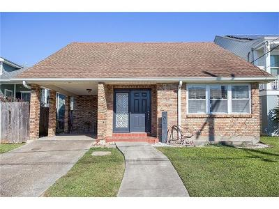 New Orleans LA Single Family Home For Sale: $379,000