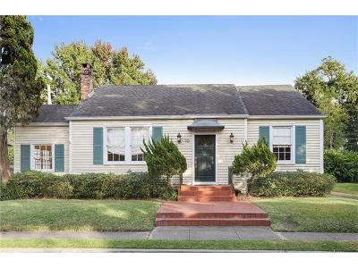 Metairie Single Family Home For Sale: 10 Beverly Garden Drive