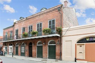 Single Family Home For Sale: 907 Chartres Street