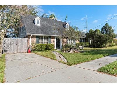River Ridge, Harahan Single Family Home Pending Continue to Show: 10125 Stephen Drive