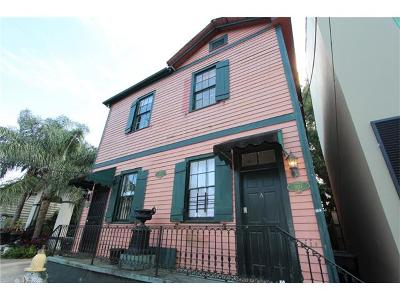 New Orleans Condo For Sale: 1824 Burgundy Street #B
