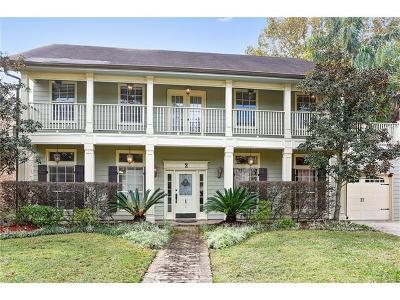 River Ridge, Harahan Single Family Home For Sale: 2 Tudor Lane