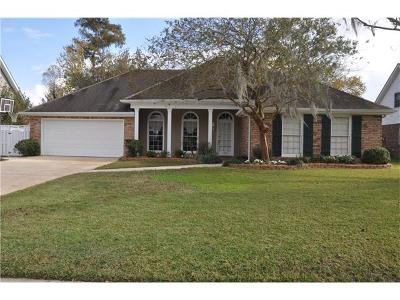 Destrehan Single Family Home Pending Continue to Show: 192 Villere Drive