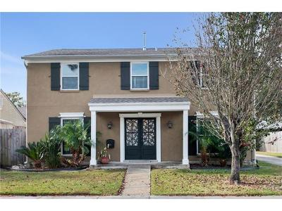 Kenner Single Family Home For Sale: 25 Trinidad Drive