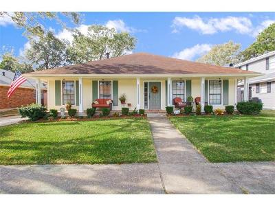 Kenner Single Family Home For Sale: 4129 Cognac Drive