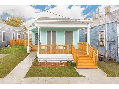 Single Family Home For Sale: 1905 Mandeville Street