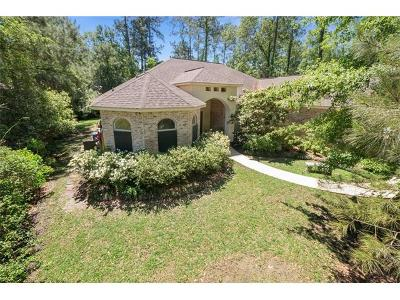 Single Family Home For Sale: 1815 Old Mandeville Lane