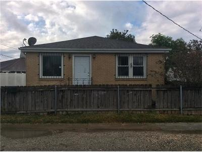 Marrero Single Family Home For Sale: 418 Pine Street