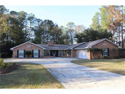 Slidell Single Family Home For Sale: 405 Christian Lane