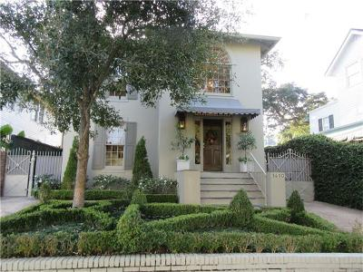 New Orleans Single Family Home For Sale: 1410 Third Street
