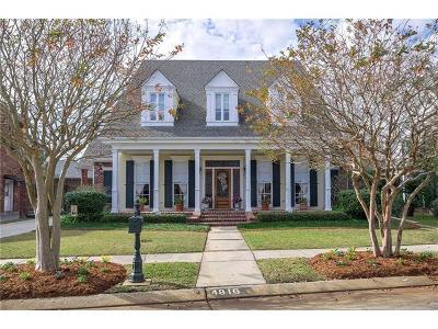 Metairie Single Family Home For Sale: 4816 Sheridan Avenue