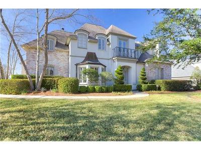 Mandeville Single Family Home For Sale: 77 Woodstone Drive