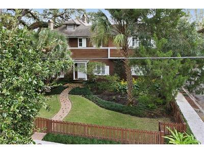 New Orleans Single Family Home For Sale: 465 Audubon Street
