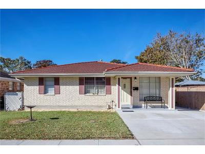Kenner Single Family Home For Sale: 3105 Illinois Avenue