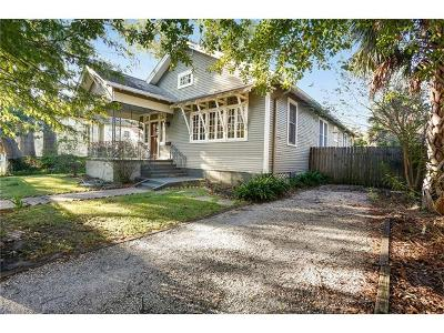 New Orleans Single Family Home For Sale: 4319 S Rocheblave Street