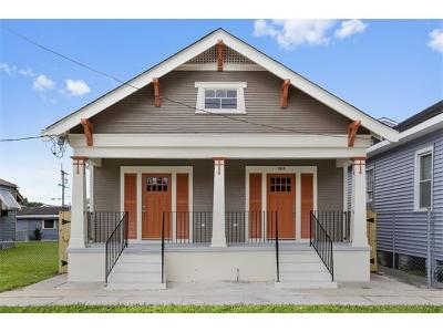 New Orleans Single Family Home For Sale: 1313 Congress Street