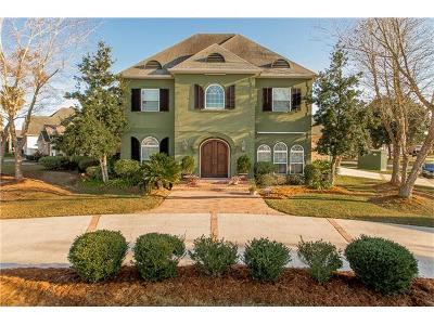 Gretna Single Family Home For Sale: 3501 Lake Kristin Drive