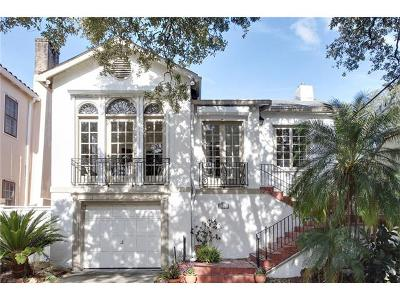 New Orleans Single Family Home For Sale: 5843 Fountainbleau