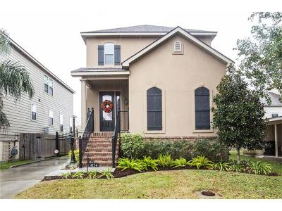 New Orleans Single Family Home For Sale: 415 35th Street