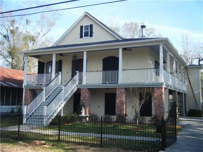 Mandeville Single Family Home For Sale: 1815 Jefferson Street