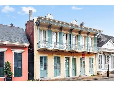 New Orleans Condo For Sale: 726 Barracks Street #A