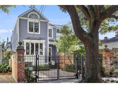New Orleans Single Family Home For Sale: 2834 Coliseum Street