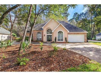 Mandeville Single Family Home For Sale: 317 Stonehaven Drive
