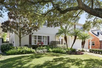 New Orleans Single Family Home For Sale: 5889 Bellaire Drive