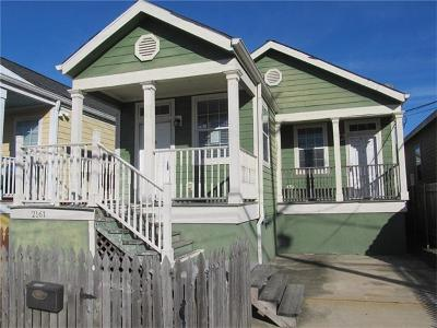New Orleans Single Family Home For Sale: 2161 Hope Street
